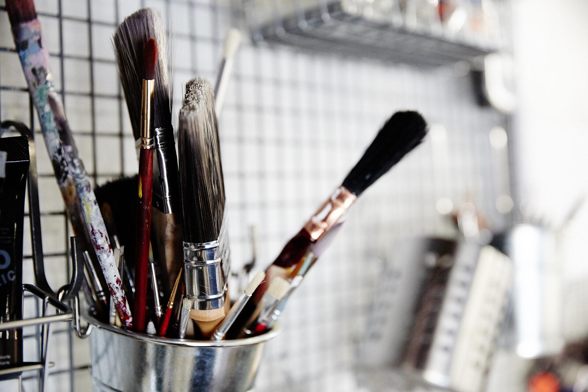 Headjam paint brushes
