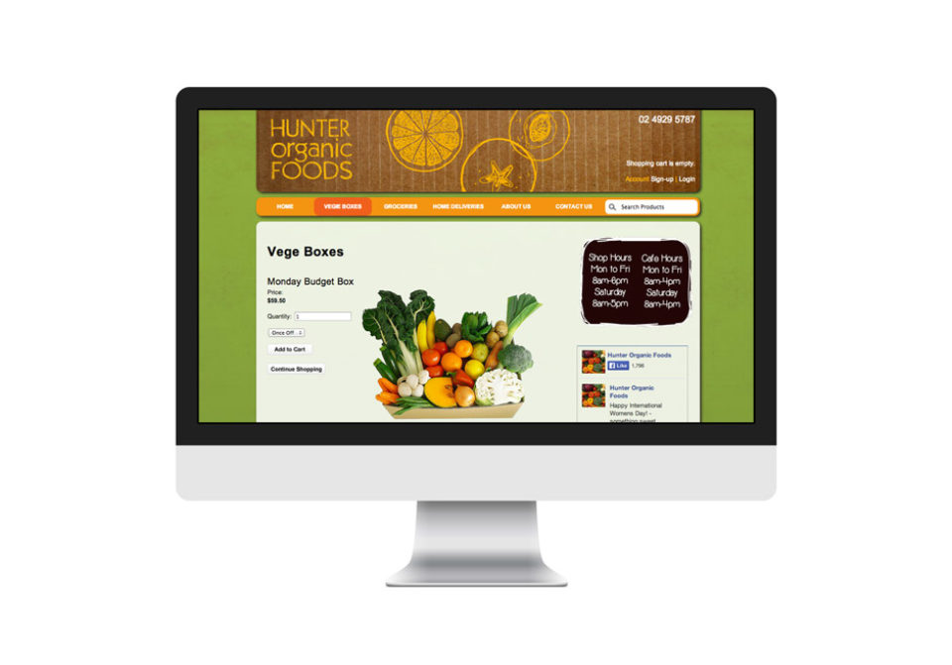 Hunter organic foods 04
