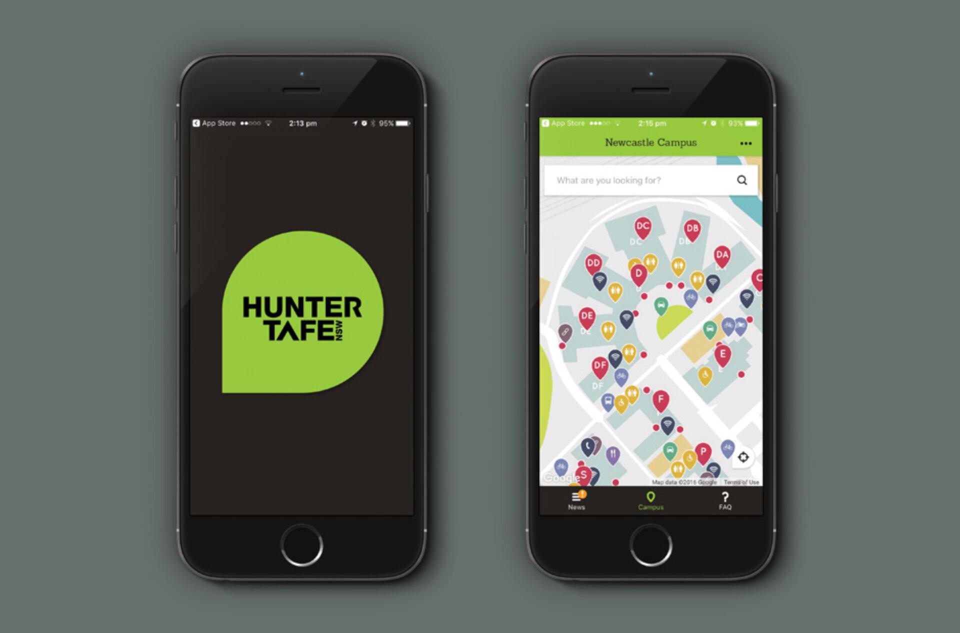 Headjam hunter TAFE App 01