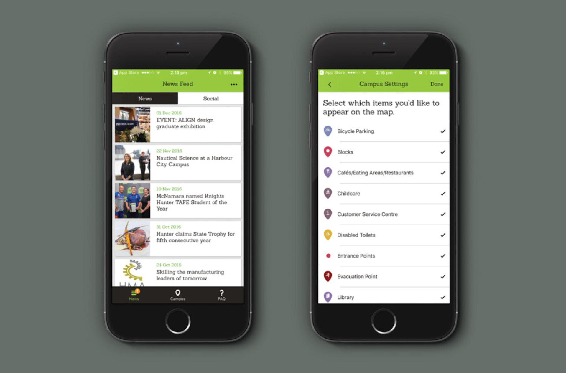 Headjam hunter TAFE App 02