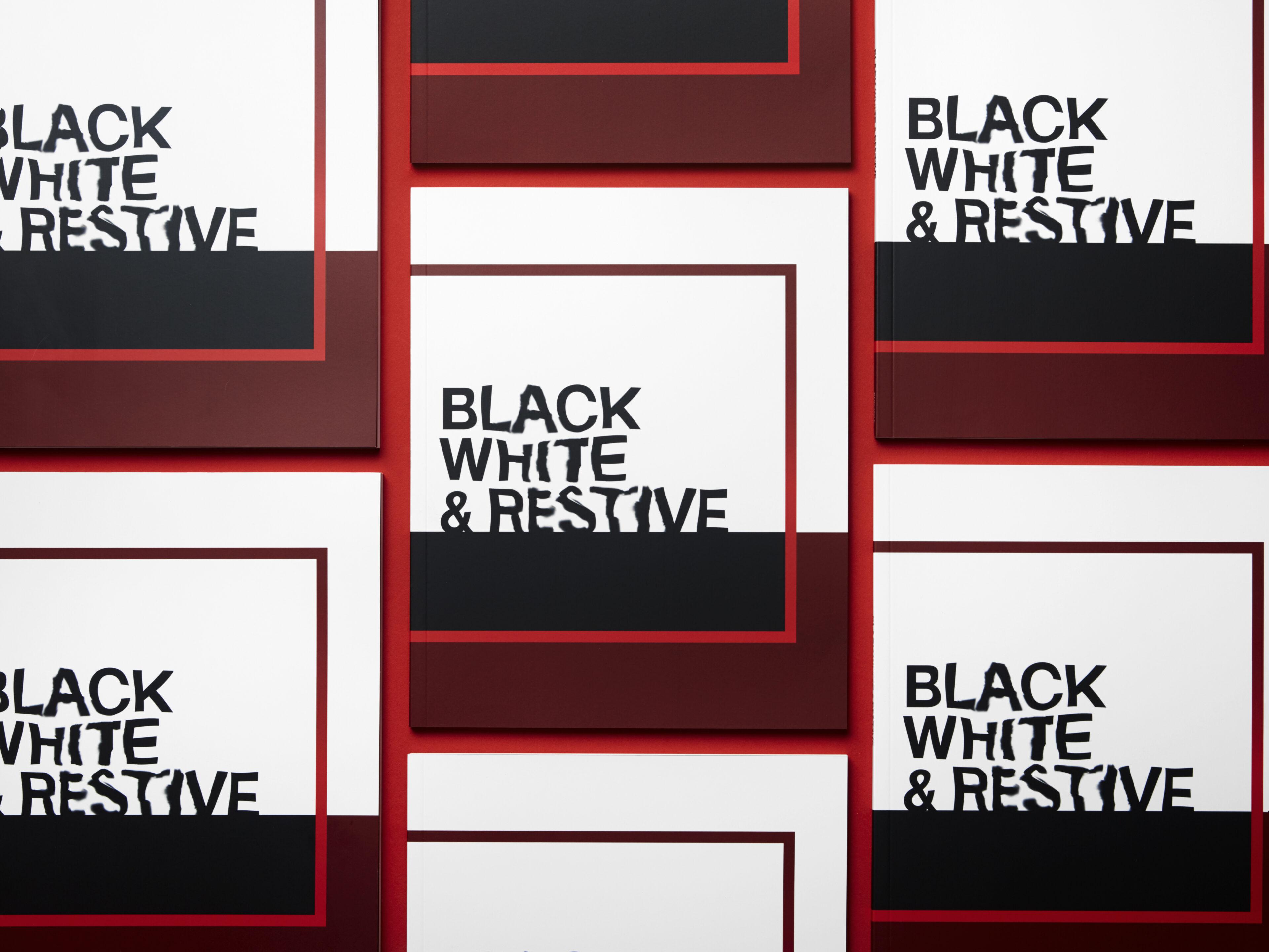 Headjam black white restive 6