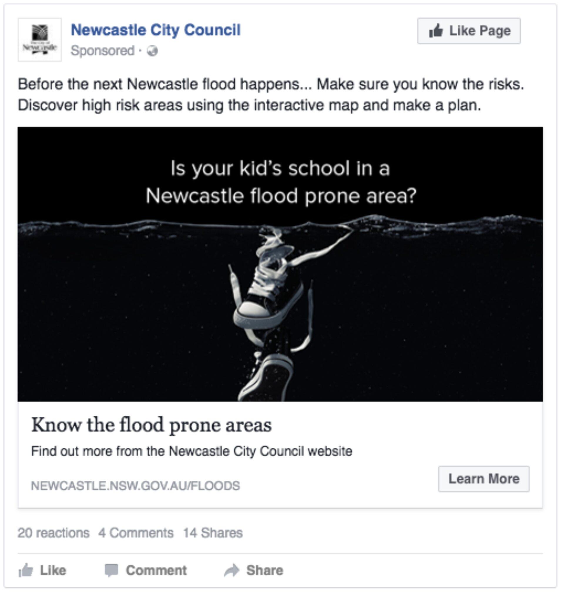 Newcastle flood image 11