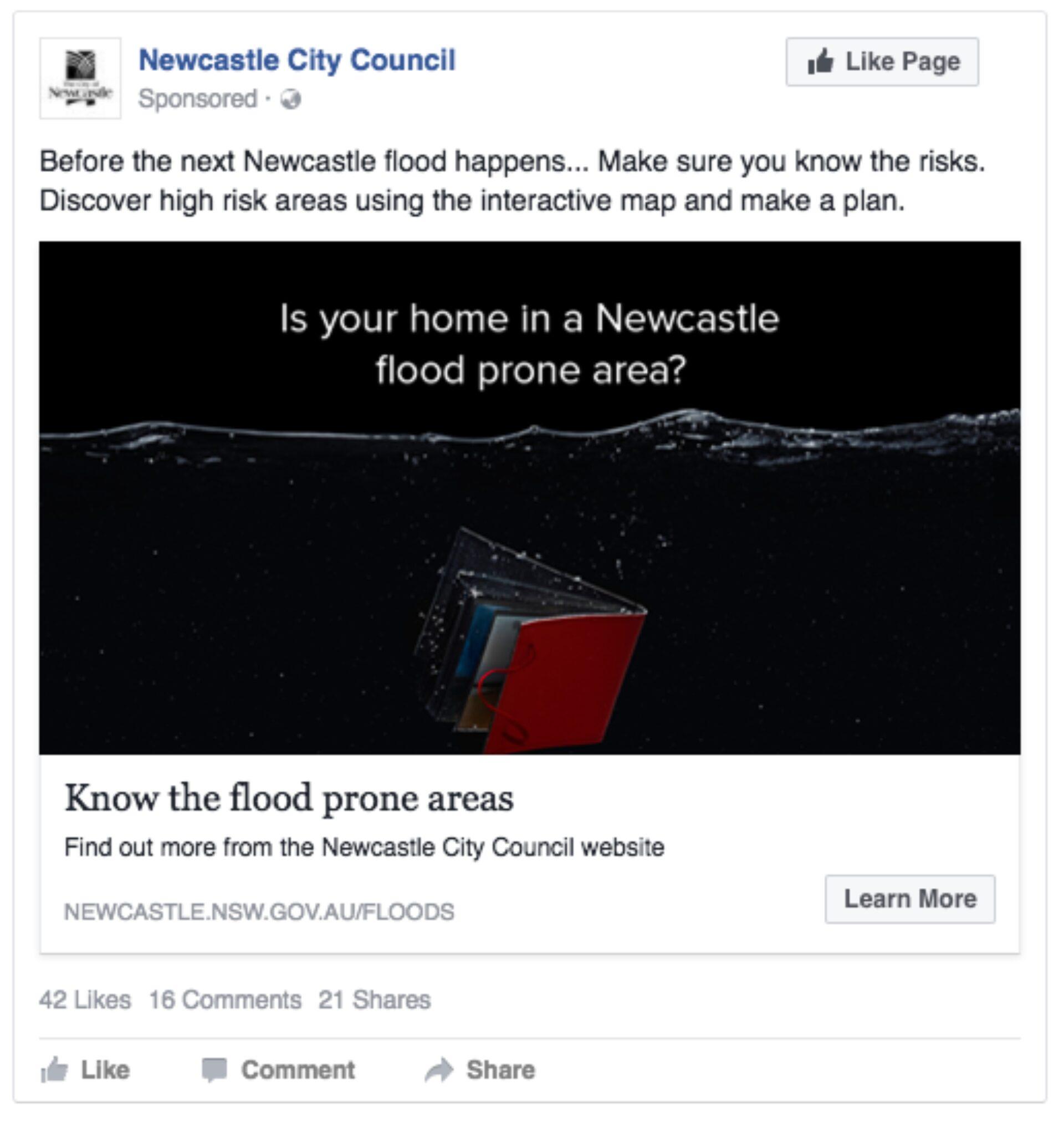 Newcastle flood image 12