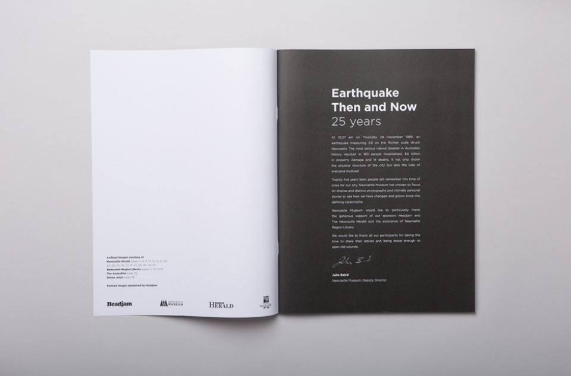 Headjam newcastle museum earthquake 002