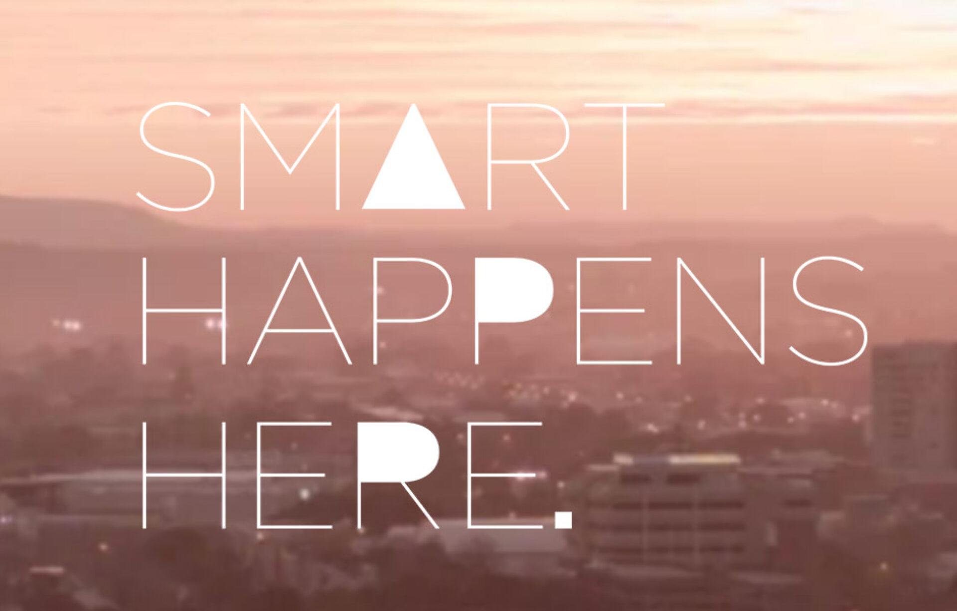 Smart happens here 01