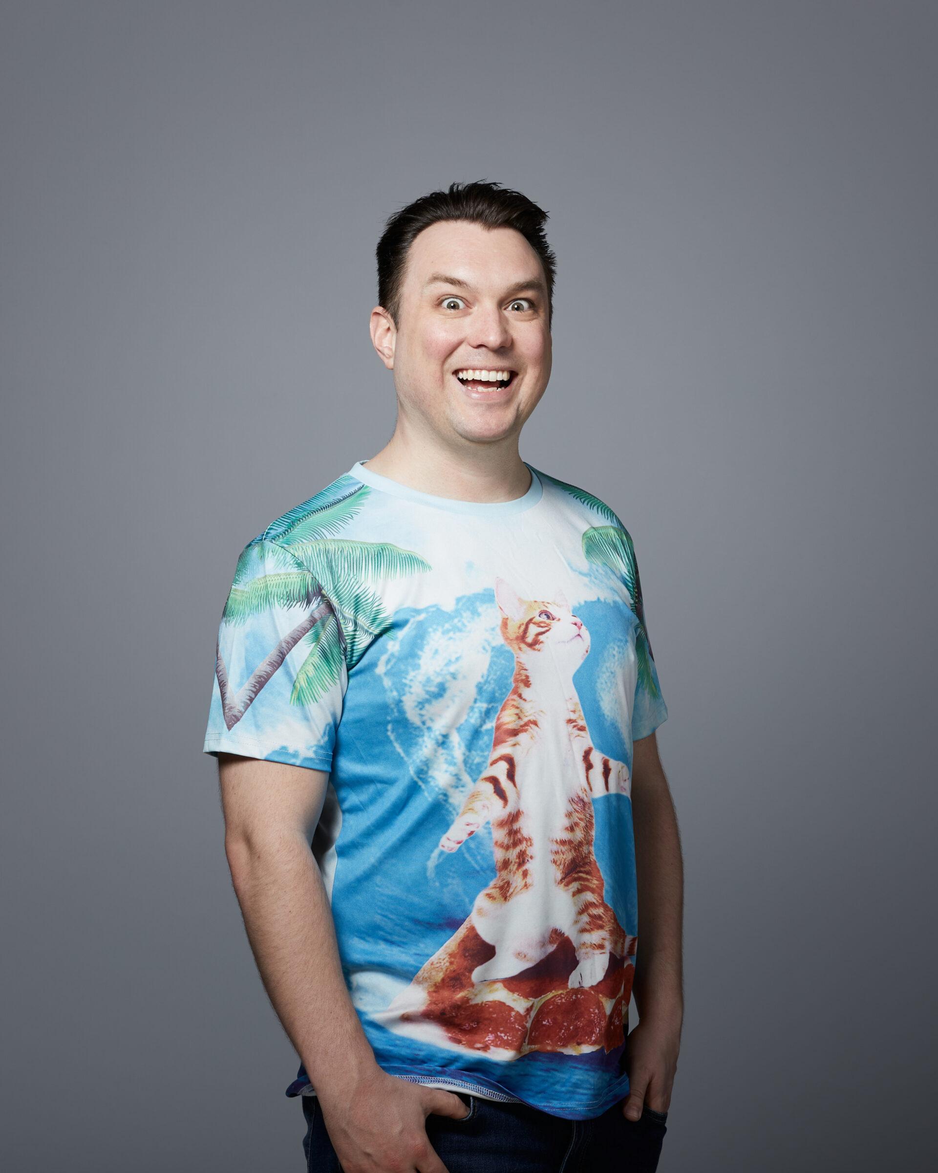 Ben norman cat shirt
